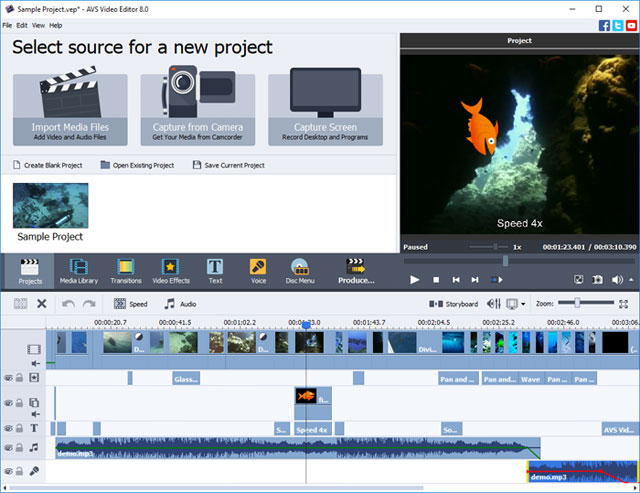 video editor softwares