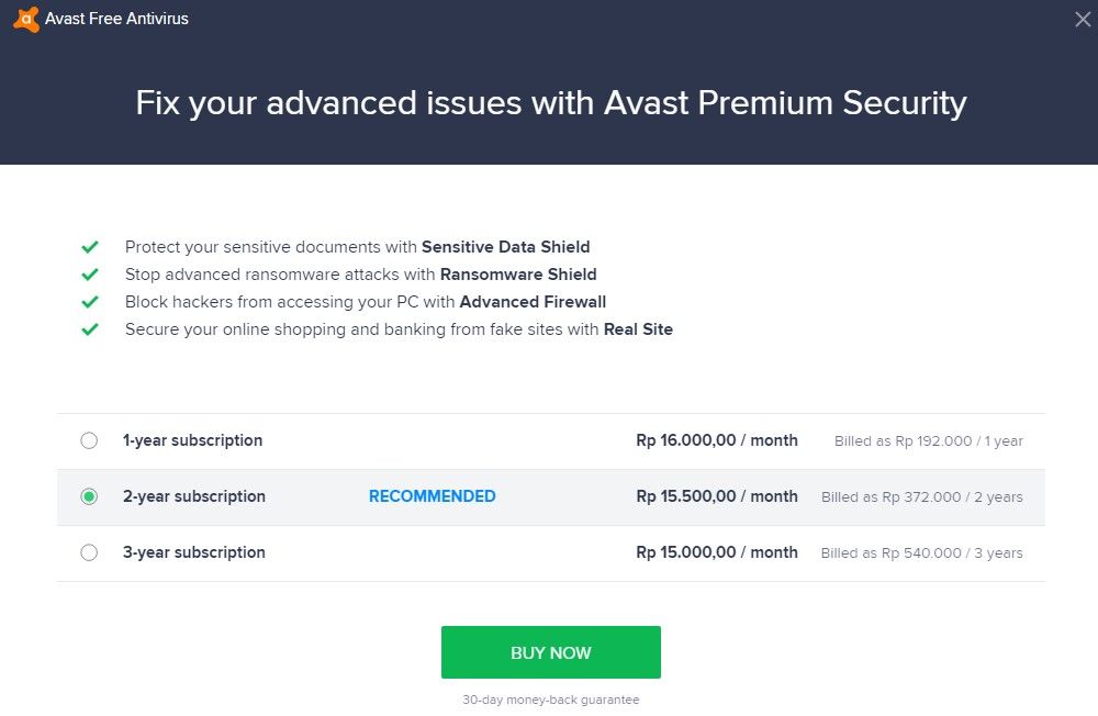 fix your advanced issues with Avast premium seurity