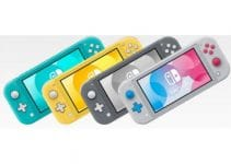 Nintendo Switch Lite Grey 5
