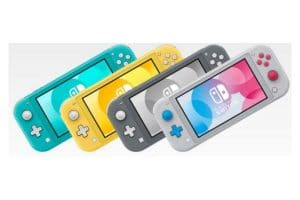 Nintendo Switch Lite Grey 6
