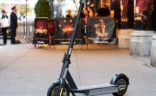 Foldable Electric Scooter For Sale: 100kg Payload, Climb up to 20 Degree, 30 km/h Top Speed, 65km Mileage – Ninebot Max G30