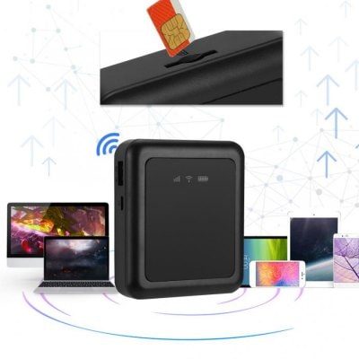 3G Router Wifi Hotspot 5200mAh Large Battery Portable Router Wifi Modem Support WCDMA