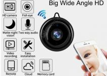 Video Surveillance Camera Wireless  Night Vision Smart Home Security IP Cameras Motion Detection 3