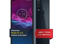 Motorola One Action | Unlocked | Made for US by Motorola | 4/128GB | 16MP Camera | Denim 2
