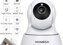 INQMEGA Cloud 1080P IP Camera Wireless Auto Tracking Home Security Camera 3