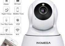 INQMEGA Cloud 1080P IP Camera Wireless Auto Tracking Home Security Camera 6