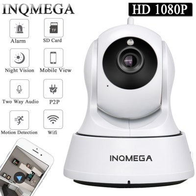 INQMEGA Cloud 1080P IP Camera Wireless Auto Tracking Home Security Camera