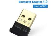 Hannord Bluetooth Adapter Wireless USB Bluetooth Transmitter Bluetooth Dongle Music Receiver for PC Keyboard Mouse Headset 2