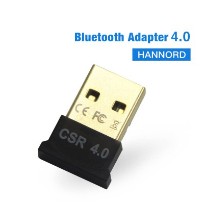 Hannord Bluetooth Adapter Wireless USB Bluetooth Transmitter Bluetooth Dongle Music Receiver for PC Keyboard Mouse Headset