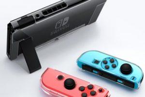 Transparent PC Protector Case Cover for Nintendo Switch Console Joy-Con Controller 2