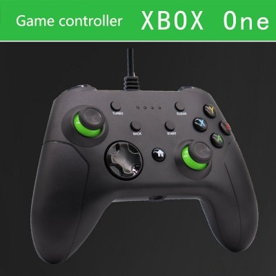 X Box Wired Handle 3.5 Interface Compatible With PC Game Controller