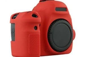 Soft Silicone Rubber Camera Protective Body Cover Case Skin for Canon 6D Camera Bag 3