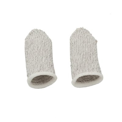 1 Pair Mobile Finger Stall Controller Sweatproof Breathable Finger cots