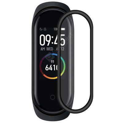ENKAY 3D Curved PC Soft Edge PMMA Full Screen HD Screen Protective Film for Huawei Watch GT 2 42mm (2019) / Xiaomi Mi Band 4