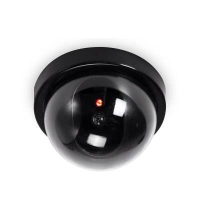 Simulation Hemisphere Surveillance Networking IP Camera with Flashing Light