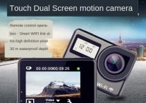 Touch Dual Display WIFI Remote Control Sports Camera Outdoor Sports Waterproof HD Camera DV 3