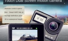 Touch Dual Display WIFI Remote Control Sports Camera Outdoor Sports Waterproof HD Camera DV