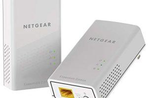 NETGEAR PowerLINE 1000 Mbps, 1 Gigabit Port - Essentials Edition (PL1010-100PAS) 1