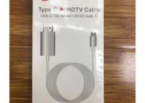 Typec Mobile Phone High-Definition Mobile Phone Connected To Tv Conversion Line Type-c To Hdmi Cable 3