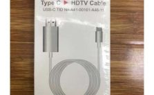 Typec Mobile Phone High-Definition Mobile Phone Connected To Tv Conversion Line Type-c To Hdmi Cable