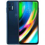 Motorola Moto G9 Plus 128GB, 4GB RAM, XT2087-1, 64MP Camera System, 6.81 inches, LTE Factory Unlocked Smartphone – International Version (Blue Indigo)