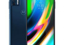 Motorola Moto G9 Plus 128GB, 4GB RAM, XT2087-1, 64MP Camera System, 6.81 inches, LTE Factory Unlocked Smartphone - International Version (Blue Indigo) 1