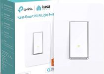 Kasa Smart Light Switch by TP-Link, Single Pole, Needs Neutral Wire, 2.4Ghz WiFi Light Switch Works with Alexa and Google Assistant, UL Certified, 1-Pack (HS200), White 3