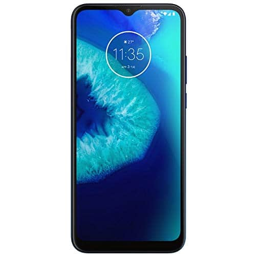 Motorola Moto G8 Power Lite 64GB, 4GB RAM, 5000 mAh Battery, 6.5' HD+ LTE Factory Unlocked Smartphone - International Version (Blue)