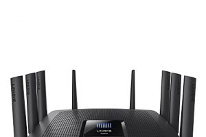 Linksys EA9500 Tri-Band Wi-Fi Router for Home (Max-Stream AC5400 MU-Mimo Fast Wireless Router), Black 6