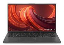 "Asus Vivobook 15 Thin and Light 15.6"" FHD, AMD Quad Core R3-3200U CPU, 8GB DDR4 RAM, 128G SSD, AMD Radeon Vega 3 Graphics, Windows 10 in S Mode, F512DA-DB34, Slate Gray (Renewed) 1"