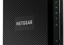 NETGEAR Nighthawk Cable Modem WiFi Router Combo C7000-Compatible with All Cable Providers Including Xfinity by Comcast, Spectrum, Cox | For Cable Plans Up to 400 Mbps | AC1900 WiFi Speed | DOCSIS 3.0 1