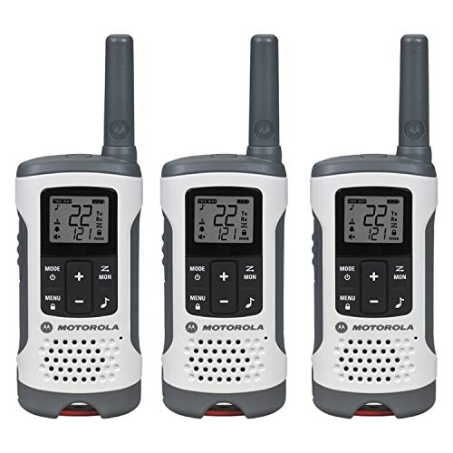 Motorola T260TP Talkabout Radio, 3 Pack (Renewed)