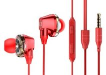 Baseus Encok H10 Electroplating Double Action Coil Wire Control Headset Mobile Phone Headset 4