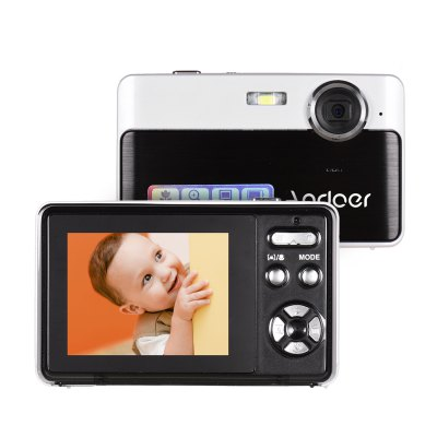 Andoer Portable Mini Digital Camera 24 Megapixels High Definition 2.4 Inch IPS Screen