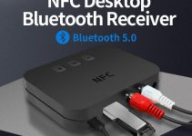 New Ti-800 NFC Bluetooth 5.0 Audio Receiver AUX Interface 3.5mm To Lnterface 2
