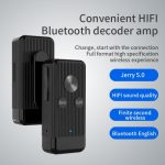 X8 Bluetooth Audio Portable Adapter Bluetooth V5.0 + EDR Audio Wireless Receiver Hands-Free Car Auxiliary Music Adapter Compatible With TF Card