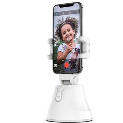 Automatic Intelligent Shooting Selfie Stick 360° Intelligent Tracking PTZ Object Tracking Camera Face Recognition Mobile Phone Bracket