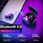 TWS Bluetooth 5.0 XG12 Headset TWS Binaural Stereo Earphones Wireless sSports Mobile Phone Universal