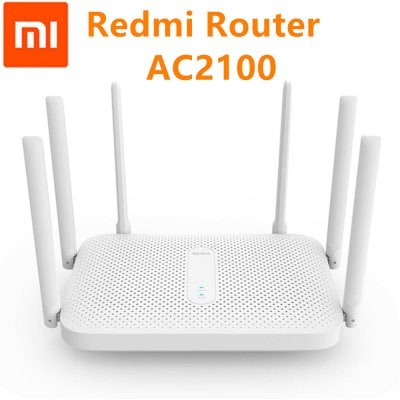 Xiaomi Redmi AC2100 Router Gigabit 2.4GHz 5GHz Dual-Band Wireless Wifi Repeater APP Control