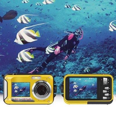 Dual Screen Camera Waterproof HD Digital Camera DV Camera