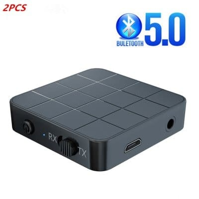 KN321 Bluetooth 5.0 Audio Receiver And Transmitter USB 3.5mm Jack For Car TV And PC Speakers