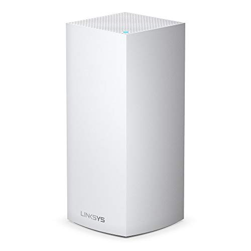 Linksys Velop Wi-Fi 6 Mesh Router (Wi-Fi 6 Mesh Wi-Fi System for Whole-Home Wi-Fi Mesh Network) MX5 Velop Ax (1-Pack, White)