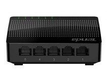Tenda 5 Port Gigabit Ethernet Network Switch | Ethernet Splitter | Plug-and-Play | Traffic Optimization | Unmanaged (SG105), Black 5