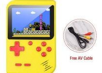 Video Game Console 8 Bit Retro Mini Pocket Handheld Game Player Built-in 400 Classic Games Best Gift 4