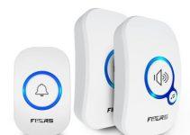 FUERS M557 Wireless Doorbell Home Security Alarm Welcome Smart Doorbell 3 in1 Multi-purpose Door Button 433MHz Easy Installtion 2