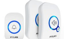 FUERS M557 Wireless Doorbell Home Security Alarm Welcome Smart Doorbell 3 in1 Multi-purpose Door Button 433MHz Easy Installtion