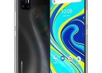 "UMIDIGI A7 Pro Unlocked Cell Phones(4GB+128GB) 6.3"" FHD+ Full Screen, 4150mAh High Capacity Battery Smartphone with 16MP AI Quad Camera, Android 10 and Dual 4G Volte(Cosmic Black). 4"