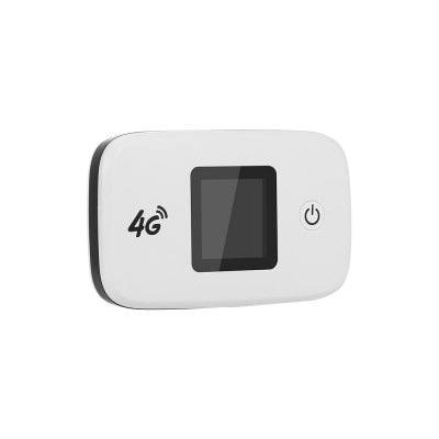 4G LTE Wireless Router Portable Wifi Router with SIM SD Card Slot 1.44 inch TFT Color Screen 2400mAh Battery