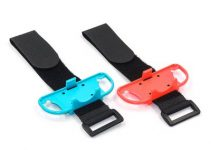 1 Pair Adjustable Elastic Dance Wrist Band Strap Wristband For Nintendo Switch Just Dance 2019 Joy-Con Controller Armband 3