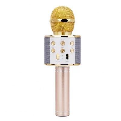858 Microphone Mobile Phone Karaoke Family Singing Bar Universal National Karaoke Singing Bar Hot Style Microphone